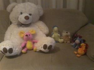 Box full of teddies for sale