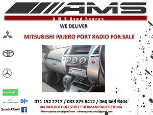 MITSUBISHI PAJERO SPORT RADIO