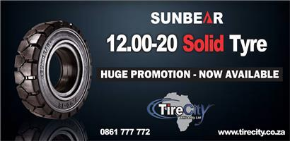 Durban Based Supplier OF Forklift Tyres, Tractor Tyres & More Including Special on 12.00-20 SolidTyres