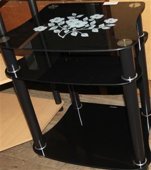 S034520A Black coffee table #Rosettenvillepawnshop