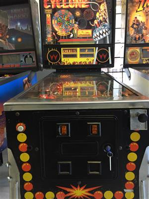 Pinball Machines wanted for cash, Nationwide collection