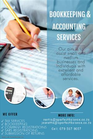A Perfect Balance (Pty) Ltd - Bookkeeping & Accounting Services