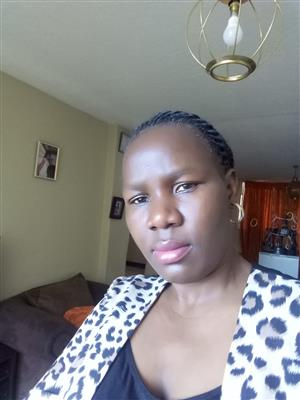 Mary,38 years From Randburg needs work Asap Stay in