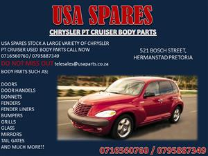 CHRYSLER PT CRUISER USED BODY SPARES FOR SALE
