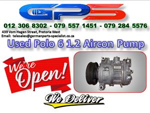VW Polo 6 1.2 Aircon Pump Used Part for Sale