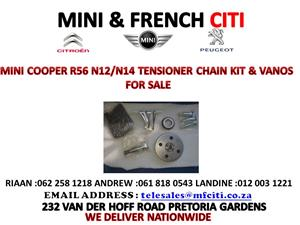MINI COOPER R56N12/14 TENSIONER CHAIN KIT PLUS VANOS FOR SALE !