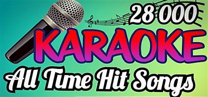Karaoke Package With 28 000 Tracks