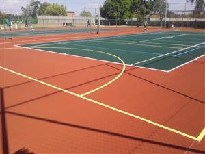 Tennis Courts SA Renovations