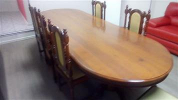 Umbuia Boardroom/dining room table 10 seater