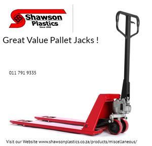 Great Range of Pallet Jacks for Sale (NEW)