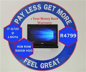 i7 Dell Latitude & 12 Months Warranty (357)
