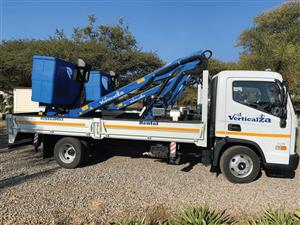VerticalZA Bucket Truck – Hyundai Challenger Mounted 16m Manlift CHERRY PICKER