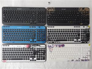 Logitech K360 Unify Keyboard in different colours