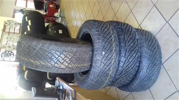 255/60/18 General Grabber x4 new tyres R7500
