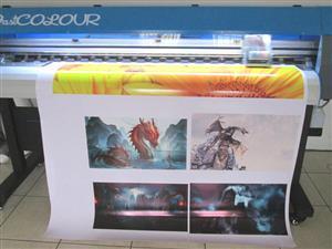 F-1862/ECO/DX7 FastCOLOUR 1860mm Large-Format ECO Solvent Ink Inkjet Printer, EPSON® DX7