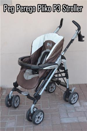 Peg Perego Travel System - P3 Stroller, with car seat and Base
