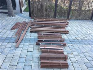 16 Wooden blinds Different sizes for sale.