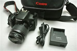 Canon EOS 600D SLR with 18-55mm Lens