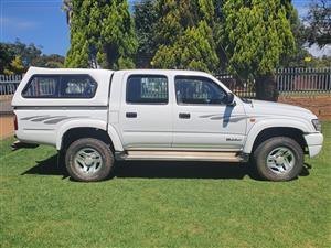 2002 Toyota Hilux 3.0D 4D double cab Raider