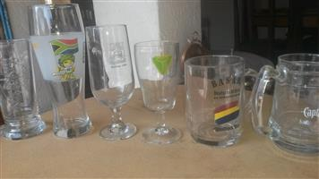 Novelty drinking glasses