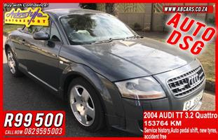 2004 Audi TT coupe TT RS QUATTRO COUPE STRONIC