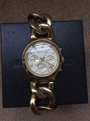 Genuine Michael Kors Ladies watch for Sale
