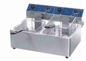 2 x 5LT DOUBLE ELECTRIC FRYER - ON PROMOTION
