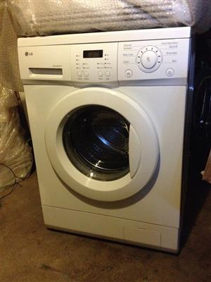 LG WASHING MACHINE & TUMBLE DRIER  =  R8400  — Call 083 460 4850