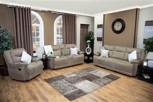Brand New Quatro Recliner Lounge Suite On sale for R18499