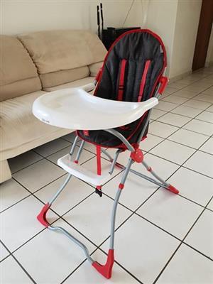 Baby feeding high chair