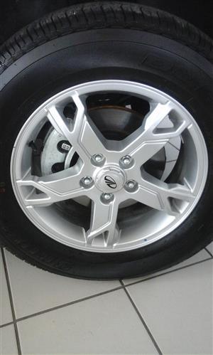"16"" Mazda BT50 alloy rims"