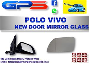 New VW Polo Vivo Door Mirror Glass for Sale