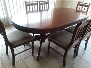 Imbuia dining room set