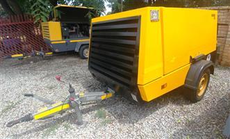 2008 Kaeser 300CFM Mobile Diesel Compressor - 1750hrs