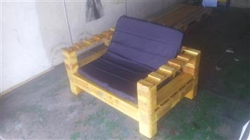 2 Seater Patio Bench New