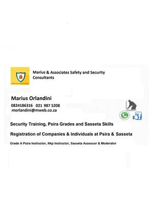 REGISTRATION OF SECURITY BUSINESS / SECURITY GRADES