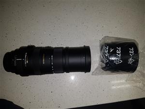 Sigma DG 150 - 500mm Lens