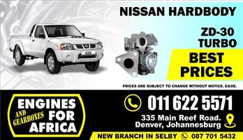 New Nissan Hardbody ZD30 3.0Tdi Turbocharger FOR SALE