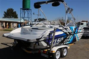 Sunsport 2150 Boat With Mercruiser Inboard