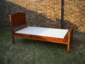 Sturdy single bed