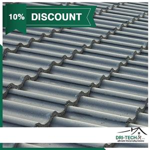 DID YOU KNOW?  Dri-Tech SA are experts at Repairing, Painting & Waterproofing tiled roofs!