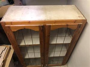 Brown cupboard for sale