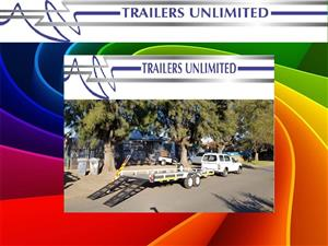 5000 X 2100 X 200 TRAILERS UNLIMITED CAR TRAILERS.
