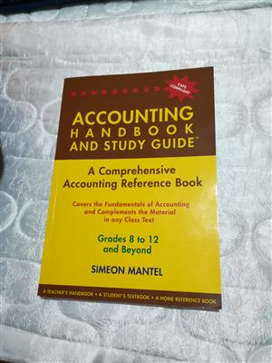Accounting Handbook and Study Guide