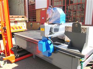 R-2040LK/50L EasyRoute 380V Lite 2050x4000mm PVC Clampable Vacuum CNC Router, 5kW Water