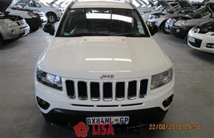 2012 Jeep Compass 2.0L Limited auto CVT