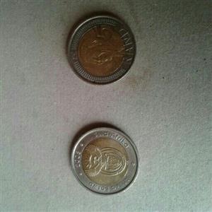 2008 mandela coins