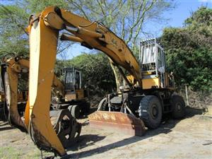 Liebherr A944 HOLZ Litronic, Wheeled Excavator with Log Grab- ON AUCTION