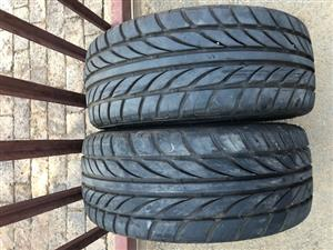 Tyres 205/40/R17