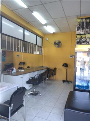 SALON/HAIR PRODUCTS SHOP FOR SALE